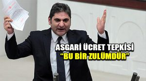 CHP'li Aykut Erdoğdu'dan asgari ücret tepkisi: Bu zulmü kabul etmiyoruz