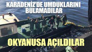 Karadenizli balıkçılar okyanusa açıldı