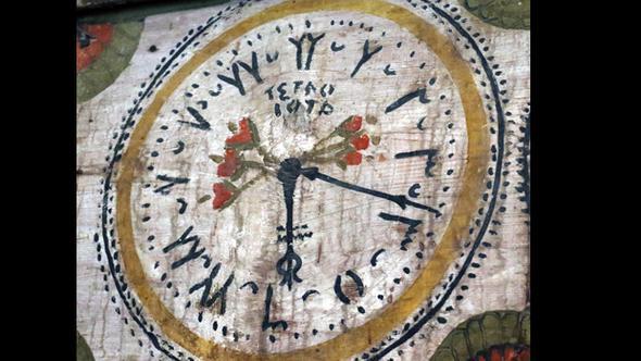 camide gizemli saat, bekdemir camisi, gizemli saat