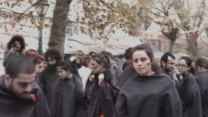 'Kadına yönelik şiddete hayır' gösterisi