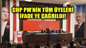 """Başsavcılık, CHP PM üyelerinin tamamını """"Erdoğan'a hakaret""""ten ifadeye çağırdı!"""