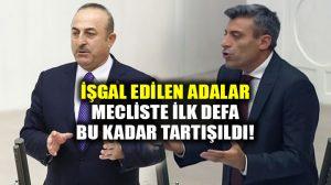 Mevlüt Çavuşoğlu ile Öztürk Yılmaz arasında Ege adaları tartışması