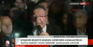 CHP'li Engin Altay: Buna ne Türkiye ne Ataşehir izin vermeyecek!