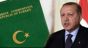 """Cumhurbaşkanı Erdoğan'dan """"yeşil pasaport"""" açıklaması"""