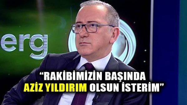 Fatih Altaylı: Fenerbahçe'nin başında Aziz Yıldırım kalsın isterim