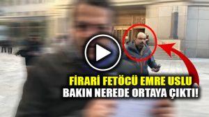FETÖ'cü Emre Uslu, Zarrab davası sonrası Cüneyt Özdemir'in kadrajına girdi!