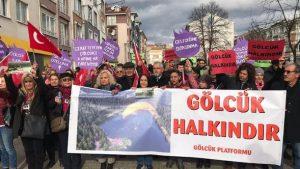 Gölcük Tabiat Parkı için protesto: Gölcük'e dokunma!