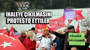 Gölcük için protesto! Yaklaşık 500 kişi…