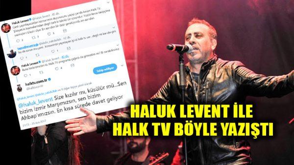Haluk Levent sitem etti, Halk TV'den açık davet geldi: Sen bizim AHBAP'ımızsın!