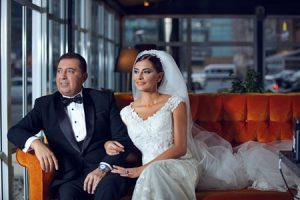Hande Fırat evlendi