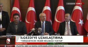 İlgezdi'nin avukatı Kemal Kılıçdaroğlu ile kameraların karşısına geçti, usulsüzlüğü anlattı!