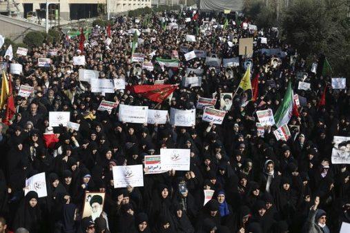 iran, protesto