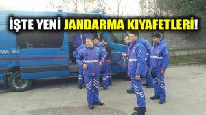 Jandarma'nın yeni üniforması tartışma konusu oldu!