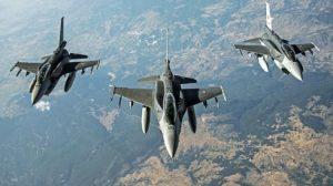 Kore semalarında bombardıman uçakları!