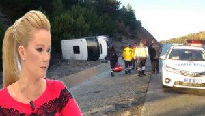 Müge Anlı'nın ekibi Kastamonu'da kaza yaptı