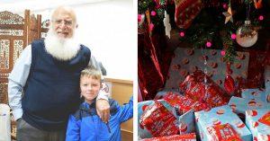 Ak sakallı Müslüman dededen, kendisini Noel Baba zanneden çocuğa her sene hediye