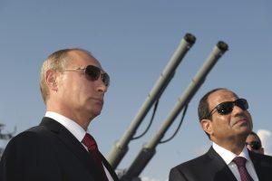 Putin ve Sisi'den nükleer anlaşma