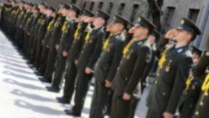 Yüksek rütbeli 16 subay için gözaltı kararı