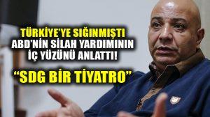 Türkiye'ye sığınan eski SDG sözcüsü Sülo, ABD'nin silah yardımının iç yüzünü anlattı