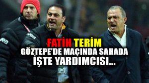 Fatih Terim, Galatasaray-Göztepe maçında sahada!