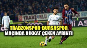 Trabzonspor-Bursaspor maçına altyapı futbolcuları damgasını vurdu!