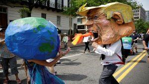 Paris İklim Zirve'sinden Trump'a şok!