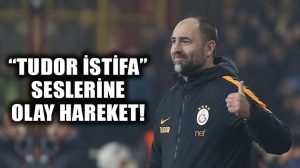 "Galatasaray taraftarı isyanda; ""Tudor istifa"" sesleri!"
