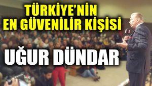 Türkiye'nin en güvenilir ismi Uğur Dündar seçildi