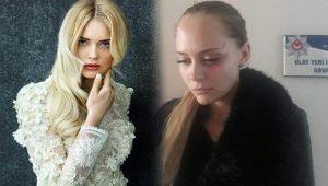 Ukraynalı mankenden tecavüz ve darp iddiası