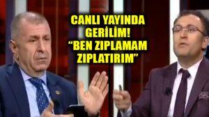 Ümit Özdağ'dan Mehmet Sarı'ya canlı yayında sert tepki: Ben zıplamam, zıplatırım!
