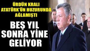 Ürdün Kralı 2. Abdullah Türkiye'ye geliyor