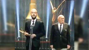 Altın Kelebek ödüllerine damga vuran Atatürk konuşması