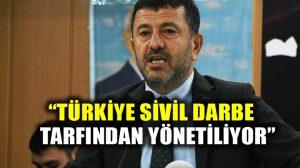 CHP'li Veli Ağbaba: Türkiye'de hukuk askıya alınmıştır