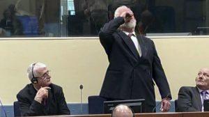 Mahkemede intihar eden Bosnalı Hırvat generalin son mektubu ortaya çıktı
