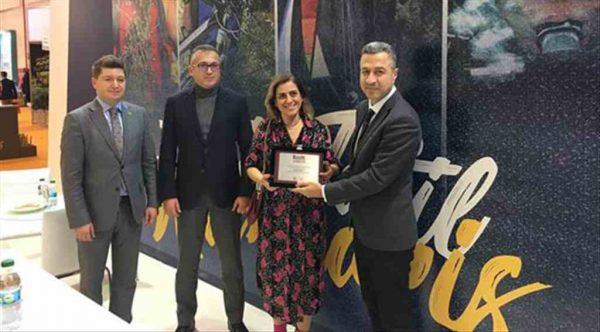 Marmaris Belediyesi'ne EMITT'ten ödülle döndü