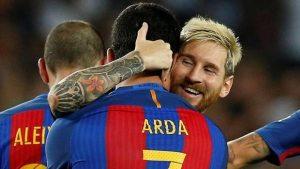 Lionel Messi'den Arda Turan'a veda mesajı