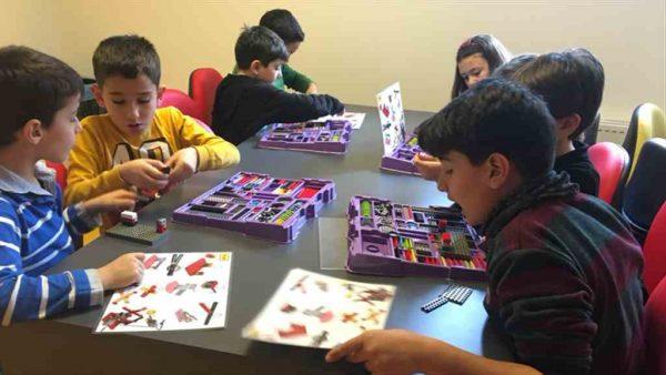 Maltepeli çocuklara Düşler Merkezi'nde uygulamalı eğitim