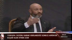 Ali Türkşen Halk Arenası'nda: Bir gece geleceğiz diyerek olmaz!