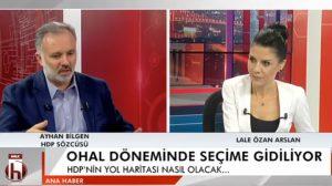 HDP Sözcüsü Ayhan Bilgen: OHAL dönemindeki seçimin meşruiyeti sorgulanmalı