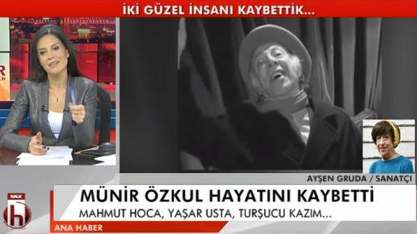 Ayşen Gruda, Münir Özkul'u anlattı: Babamızı kaybettik