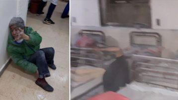 PYD Türkiye sırınındaki Azez'de hastaneye saldırdı