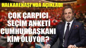 Murat Gezici anket sonuçlarını ilk kez Halk TV'de açıkladı: İşte sonuçlar…