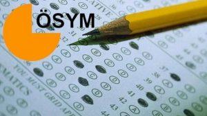 ÖSYM'den yeni düzenleme: Sınava giren adaylar…