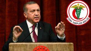 """TTB ve Erdoğan arasındaki """"Afrin operasyonu"""" tartışmasında yaşananlar…"""