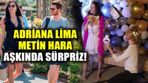 Metin Hara, Adriana Lima aşkında sürpriz: Diz çöküp evlenme teklif etti!