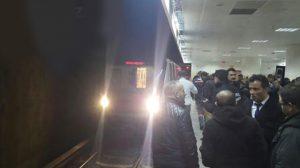 Ankara metrosunda korkunç anlar…