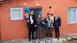 Ataşehir Belediyesi o evi baştan aşağı yeniledi