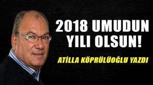 2018 umudun yılı olsun!