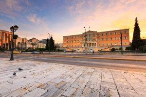 Atina'da büyük grev!