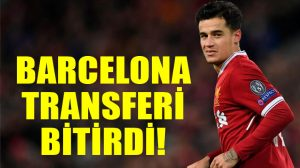 FC Barcelona, Philippe Coutinho transferini bitirdi: 160 milyon avro!